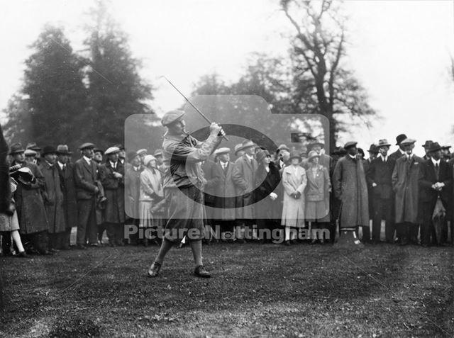 Wollaton Golf Links (opening event ?)