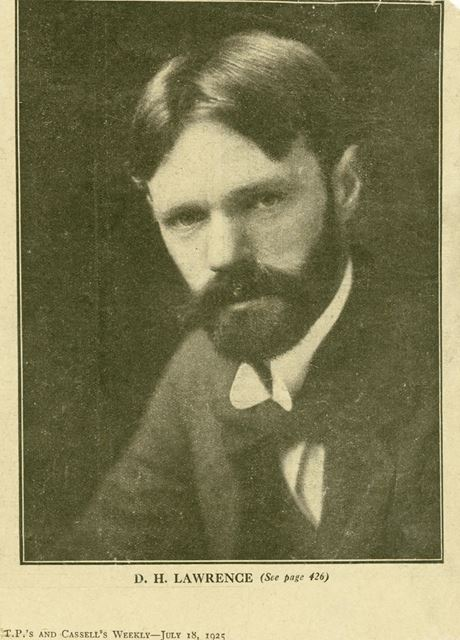 D H Lawrence, Eastwood, c 1915
