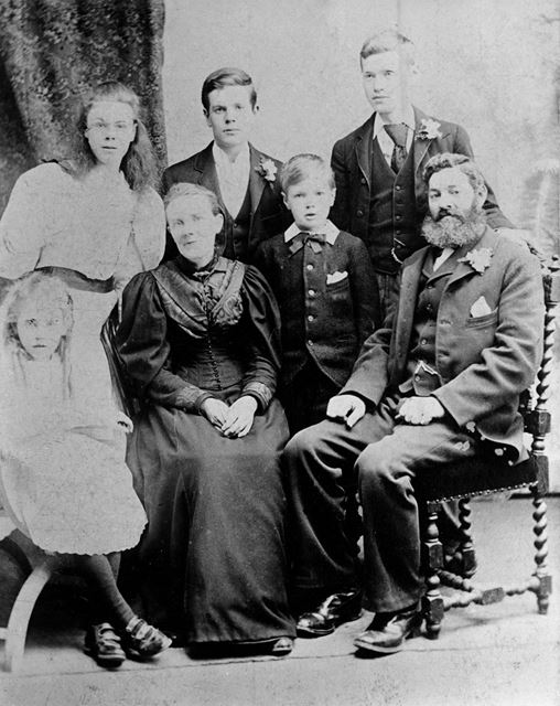D H Lawrence's family
