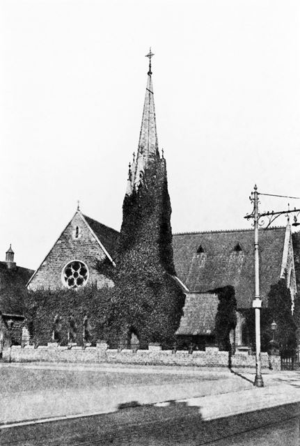 Congregational Church, Nottingham Road, Eastwood, c 1920