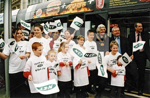 Nottingham Express Transit -official launch