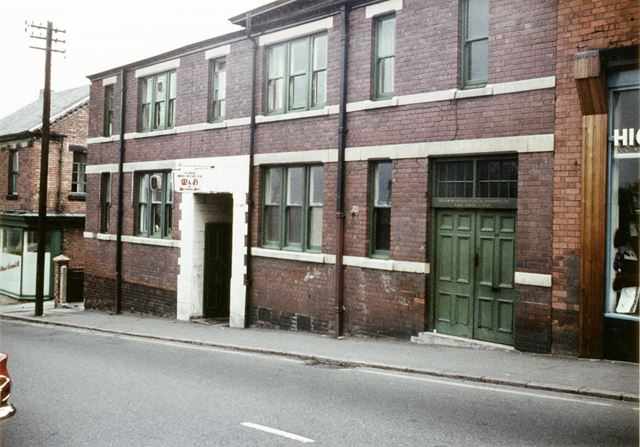 Mechanics Institute, Mansfield Road, Eastwood, 1966
