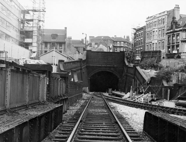 'Victoria Street' Great Central Railway Tunnel at Weekday Cross Junction