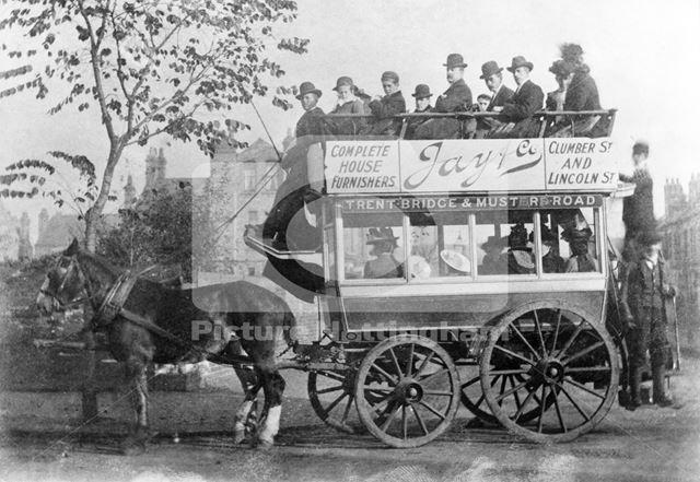 The Trent Bridge-Musters Road Horse Bus