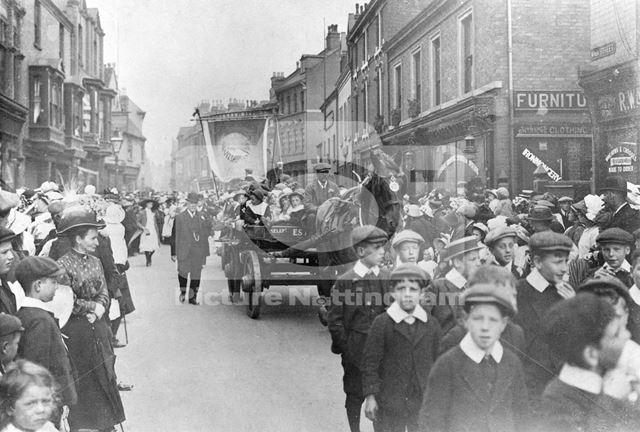 Procession, Main Street, Bulwell