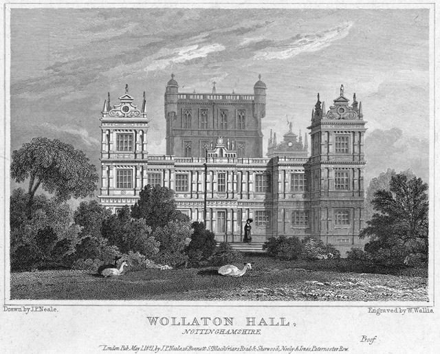 Wollaton Hall - from the SE