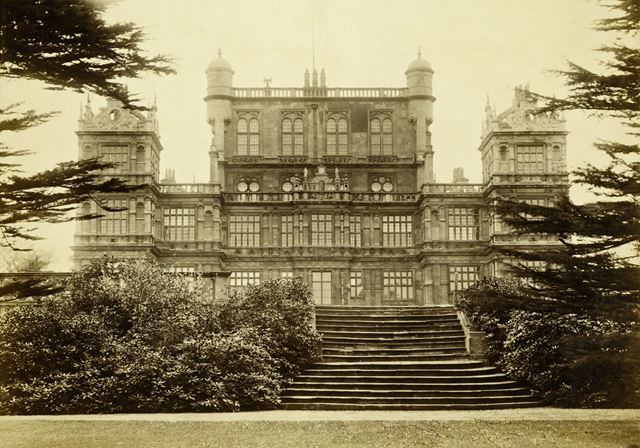 Wollaton Hall from the north west