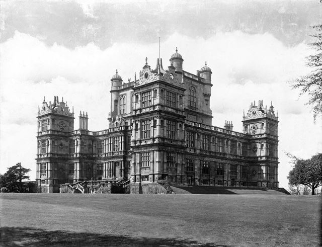 Wollaton Hall from the south east