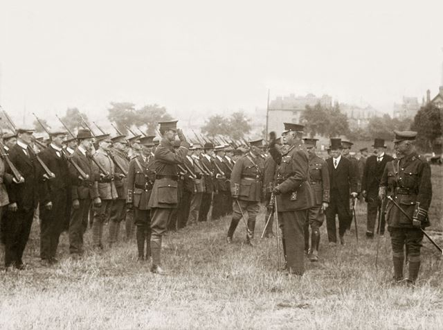 Inspection of Nottinghamshire Volunteer Regiment by the Duke of Portland