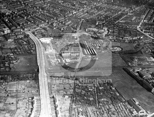 Aerial view, Wilkinson Street, Basford