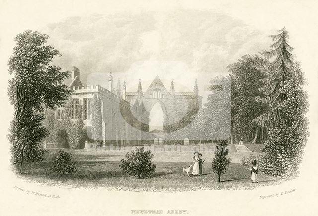 East aspect, Newstead Abbey
