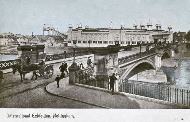 Trent Bridge and the Midlands Industrial Exhibition, Nottingham, 1903-4