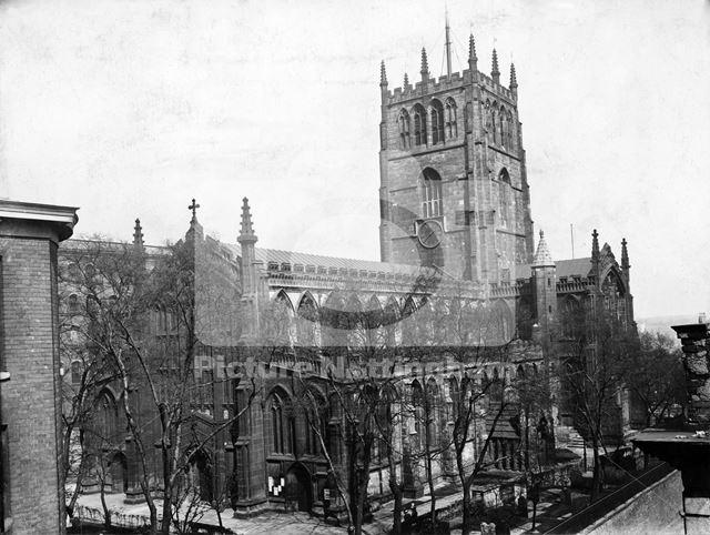 St Mary's Church, High Pavement, Nottingham, c 1905