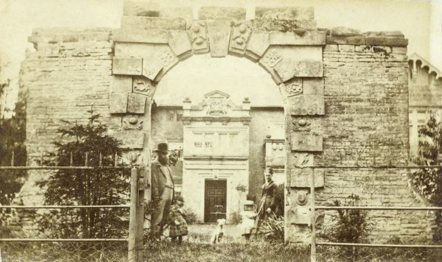 Old gateway, Broxtowe Hall