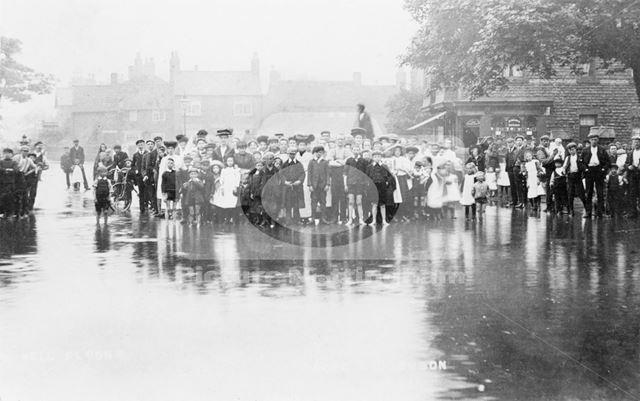 River Leen Floods, Main Street, Bulwell