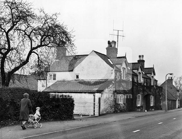 Old farmhouse, Ruddington Lane