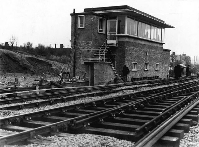 Bestwood Park Junction signal box