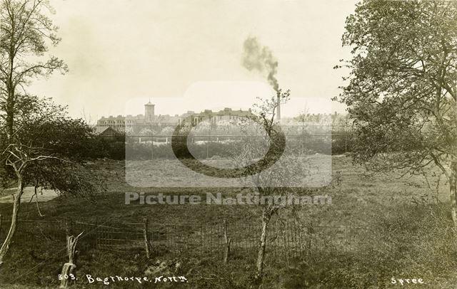Bagthorpe Infirmary (City Hospital), Hucknall Road, Sherwood, Nottingham, c 1910s ?