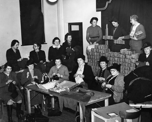 Women's Auxiliary Committee of the Nottingham Boy Scouts Association, Nottingham, 1939-1940