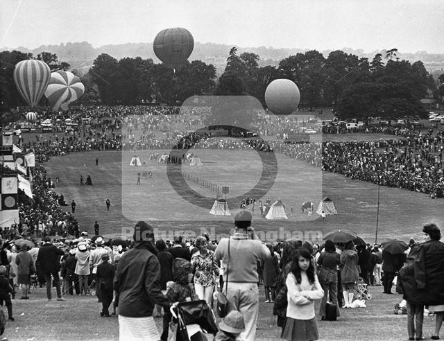 Nottingham festival, Wollaton Park, Wollaton, 1970