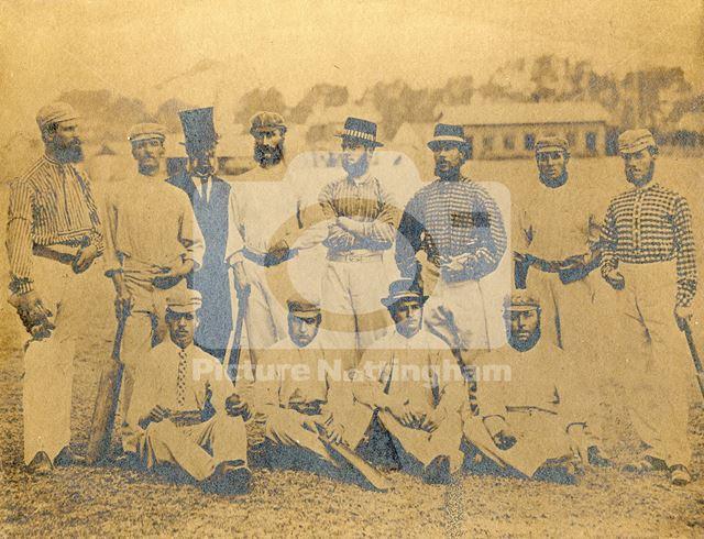Nottingham Commercial Cricket Club 1868