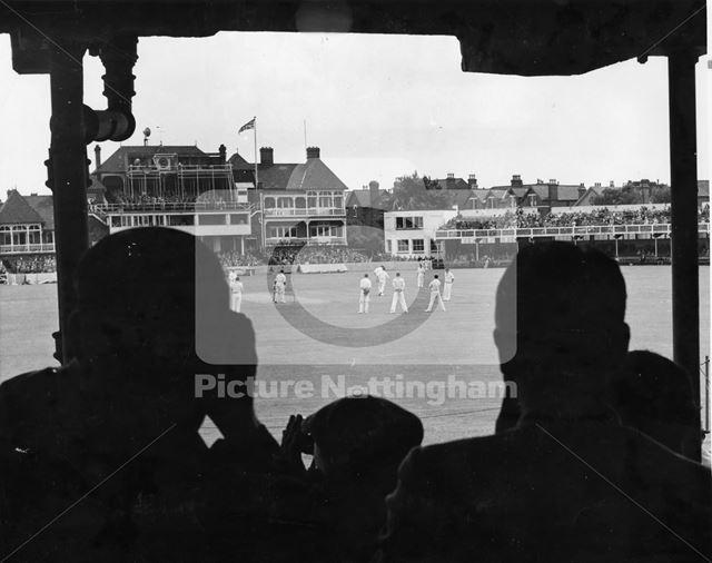 Nottinghamshire County Cricket Club, Trent Bridge, West Bridgford, 1936