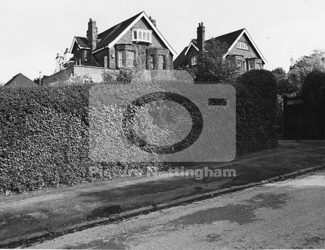 Cowley', Victoria Crescent, Mapperley Park, 1979