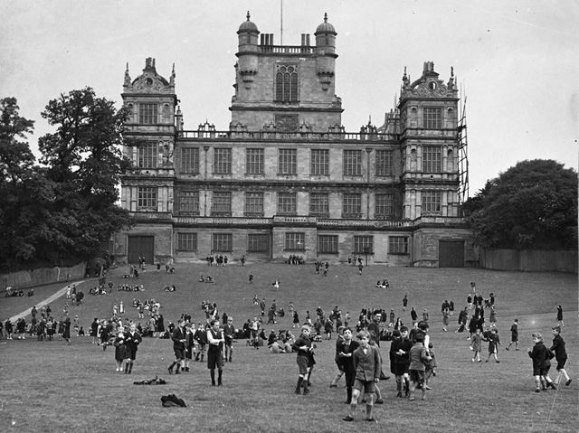 Wollaton Hall; south west aspect