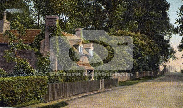 Vine cottage, Wollaton Road, 1908
