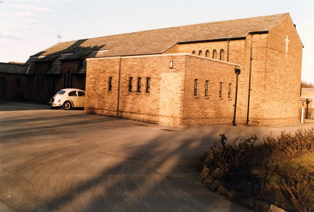 Church of Jesus, Mary and Joseph, Nazareth House, Priory Street, Lenton, 1986