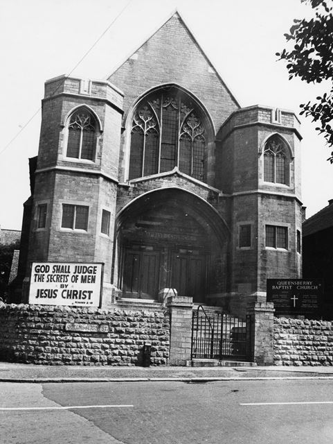 Queensbury Chapel, Queensbury Street, 1975
