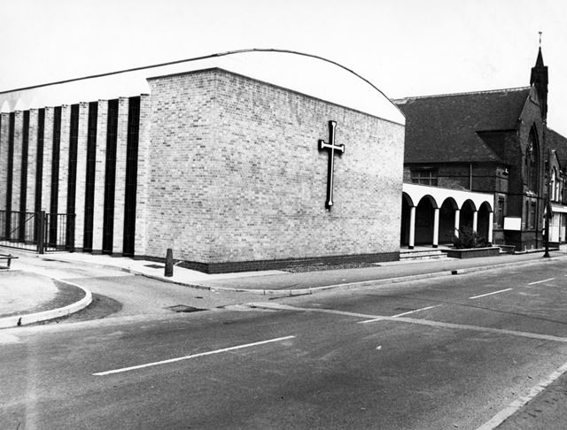 Methodist Chapels, David Lane, Old Basford, 1973
