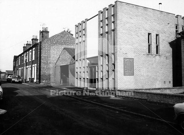 Church of God, Lowater Street, Carlton, Nottinghamshire, 1975