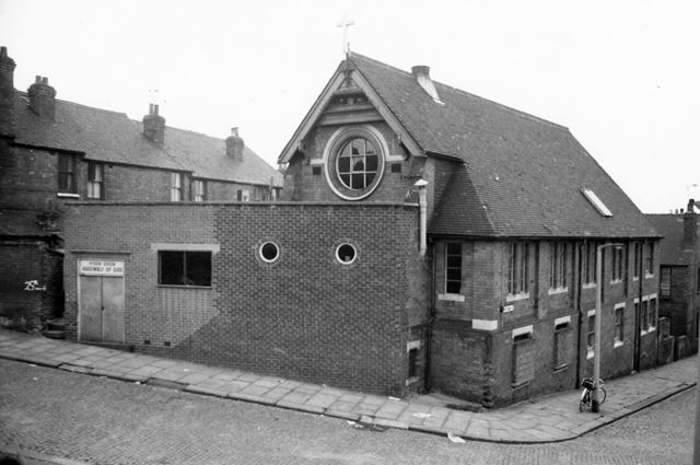 Assembly of God Church, Fisher Street/Shipstone Street, Hyson Green, 1975