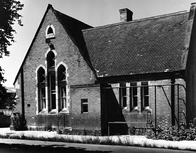 Free School, The Green, Ruddington, 1977