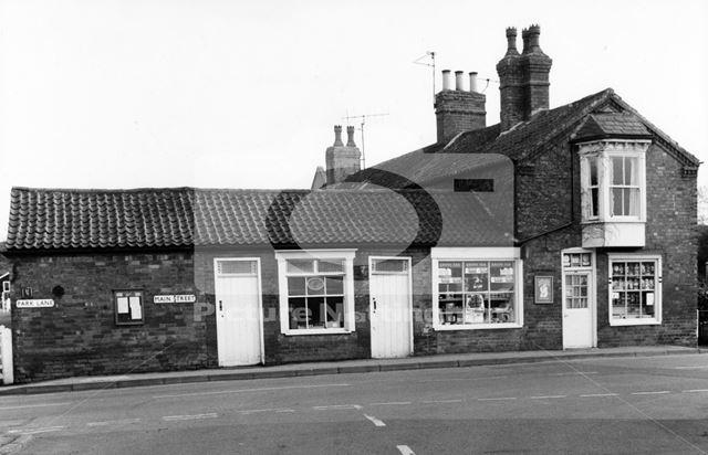 Shop, 100 Main Street. Taken from NNW (Church Street