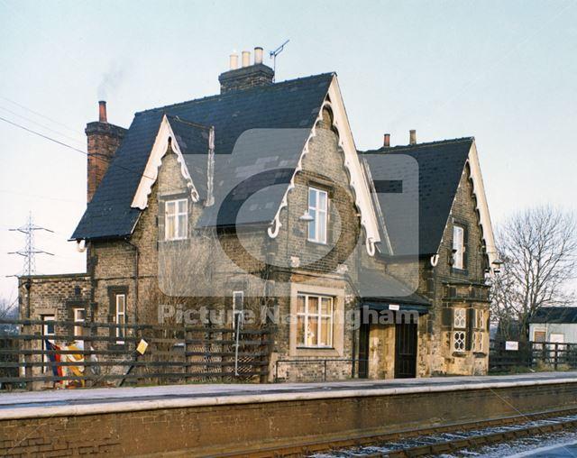Railway Station, Station Road, Thurgarton, 1980