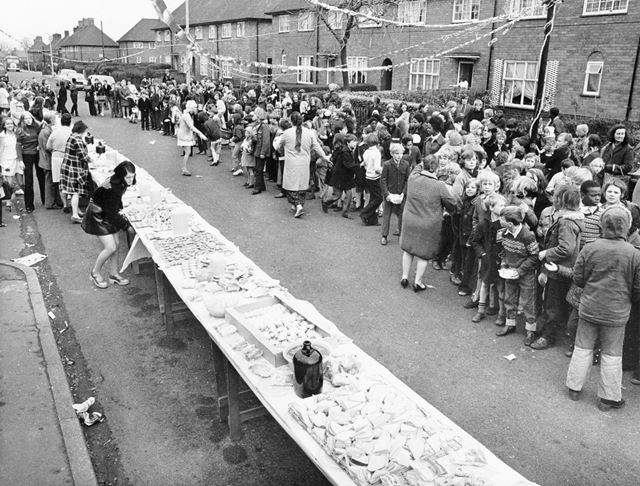 Street Party, Woodfield Road, Broxtowe