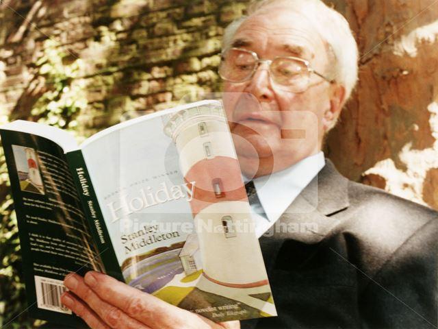 Stanley Middleton on his 80th birthday