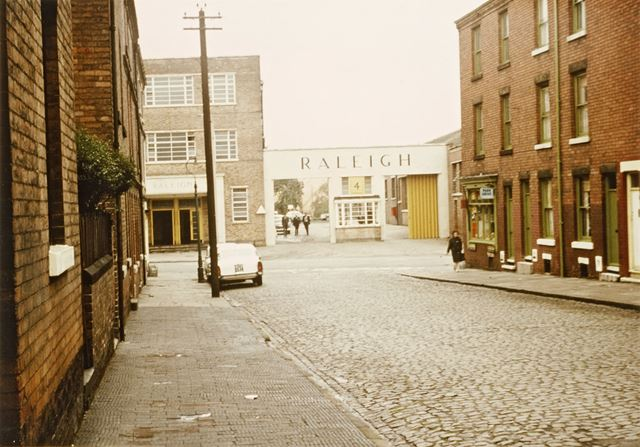 The Raleigh Cycle Company, Nottingham - This location was used in 'Saturday Night and Sunday Morning