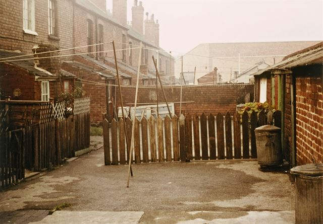 Back Yards - Salisbury Street - This location was used in 'Saturday Night and Sunday Morning'