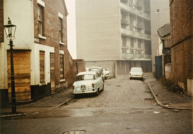 Alfred Street looking from Boden Street - This location was used in 'Saturday Night and Sunday Morni