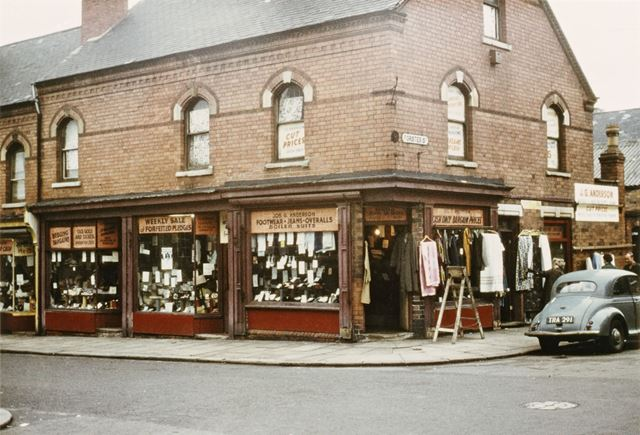 Anderson's Pawn Shop on Denman Street - Forster Street corner - Location used in 'Saturday Night and
