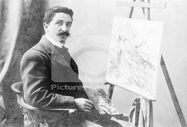 AW Redgate - Nottingham artist, c 1895