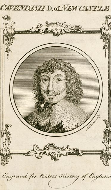 William Cavendish, 1st Duke of Newcastle - engraved for 'A Rider's History of England'