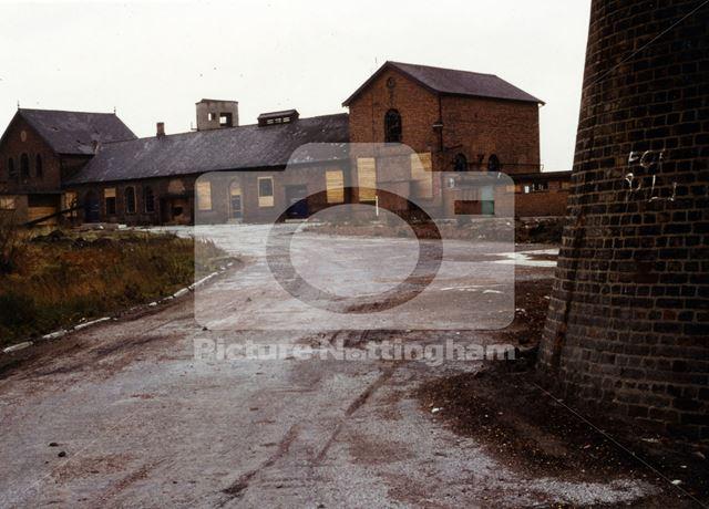 Wollaton Colliery, Wollaton, 1966