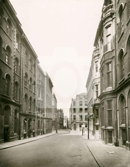 Broadway, Lace Market, 1945