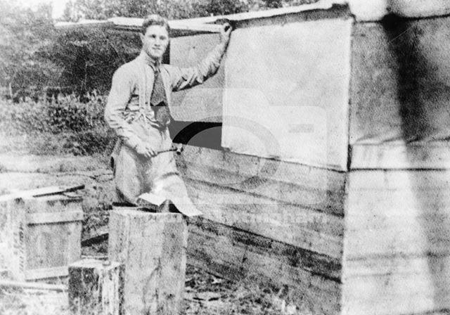 Albert Ball, Savy Aerodrome, c 1915-17