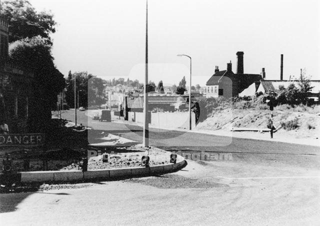 Bagnall Road, Basford, 1986
