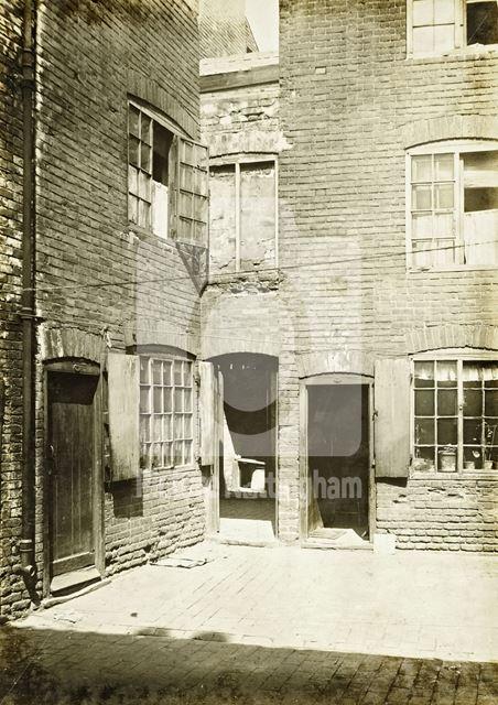 Daykin's Yard, Barker Gate, Lace Market, 1919